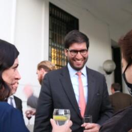 Recepcion en la Embajada del Reino Unido